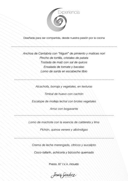 Menú degustación (Foto de www.cenadordeamos.com/)
