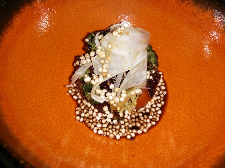 Ensalada de quinoa crujiente